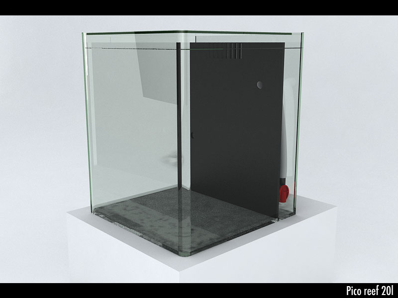 pico 20l nano cube 1 2 francenanorecif francenanorecif. Black Bedroom Furniture Sets. Home Design Ideas